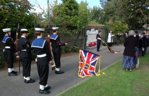 Sea cadets at the service