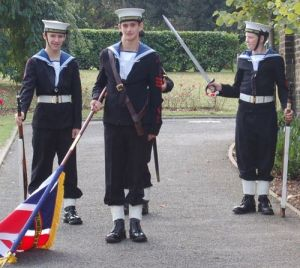 Royal Navy cadets