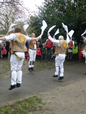 Greenwich Morris men airborne