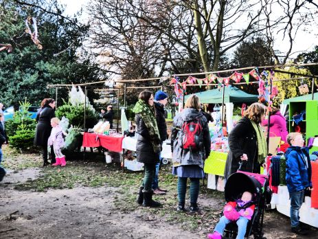Christmas Market in the Pleasaunce